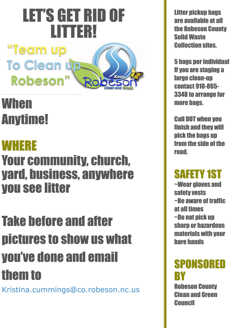 Litter Program Flyer 1